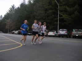 Training for the WCU half marathon kicks off