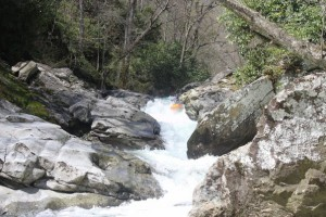 Jay Mayan: Whitewater kayaker