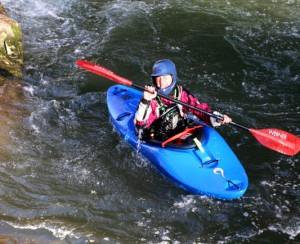 The river less paddled: personal first descent