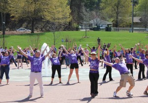 Students gather for Fount-astic Festival and receive surprise