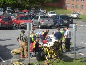 BREAKING NEWS: Smoke at Harrill Hall at WCU ceased