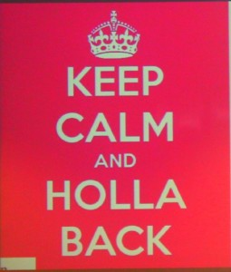 Holla'Back!