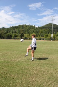 WCU soccer girl beat the odds and continues to play