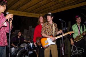 Funk band at Sylva's Soul Infusion rocked out