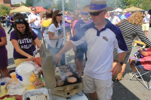 Something new about tailgating WCU 2012