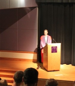"""WCU Homecoming begins with another successful """"Last Lecture"""" event"""
