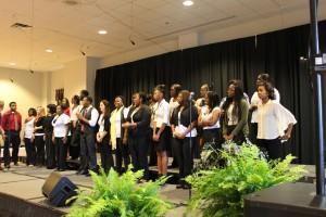 WCU Inspirational Choir gives uplifting performance