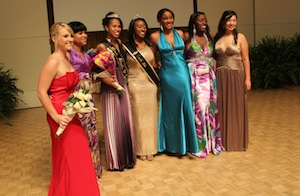 Ladies shine in Miss Black and Gold Pageant