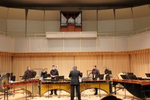 The WCU percussion ensemble review