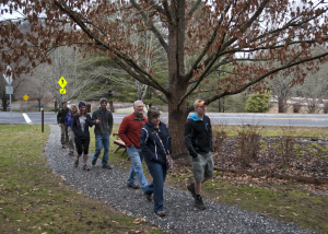 WCU trail system officially opens