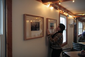 Photography student to be featured in public art reception