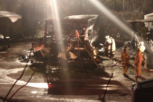 Fire destroys mobile home in Sylva; no injuries