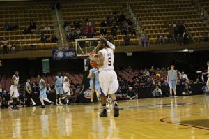 Catamounts overcome slow start to defeat the Citadel in opening round of SoCon Tournament