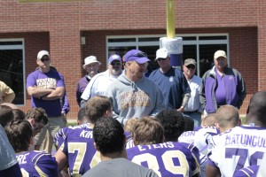 Spring fever for Catamount football