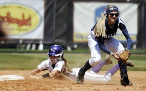 Catamount softball caps off Senior Day weekend with wins