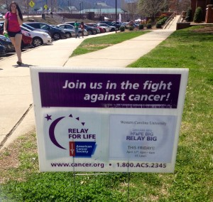 Come to rally for Relay For Life