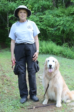 Deputy Kathy Adamle and Jake. Photo by Ben Haines.
