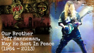 Slayer guitarist Jeff Hanneman dead at 49