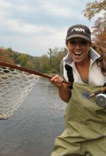 Shannon Christy loved to fly fish. Photo by Tucker Horne.