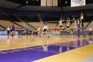 Catamount splits conference games at home