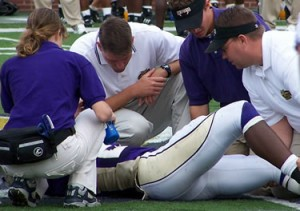 WCU athletic trainers strive for a clean bill of health