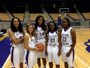 WCU Women's Basketball on 5 game win streak