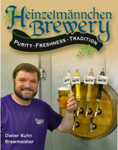 Dieter Kuhn, owner of Heinzelmannchen Brewery of Sylva