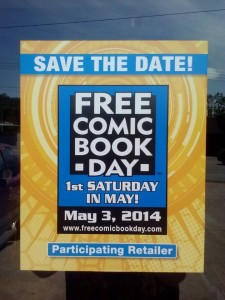 Fandemonium hosts Free Comic Book Day Saturday May 3.