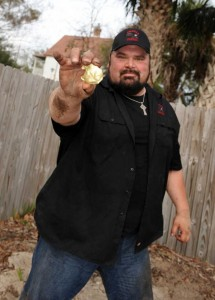 Rick Savage is host of Savage Family Diggers on Spike TV. Photo courtesy of staugustine.com