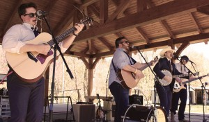 Mangas Colorado playing at 2014 Greening up the Mountains Festival. Photo by Hunter Bryn.