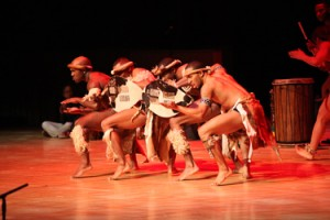 Step Afrika steps onto the stage at WCU