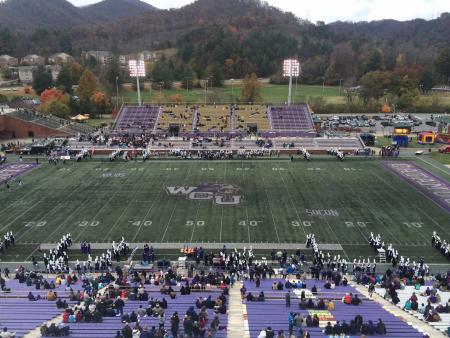 Western Carolina University Football Stadium. Barrett Boyles. 2014.