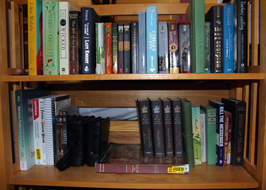 """Ceillie's college book""""shelfie"""""""