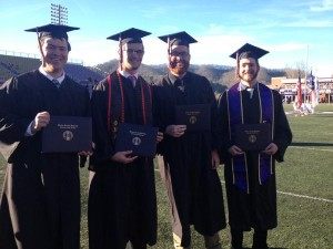 WCU community rallies for successful graduation ceremony