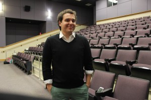 Jon Lovett, a former political speech writer, came to visit WCU. Photo taken by Rebecca Romo.