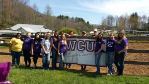 WCU equestrian team gains national attention