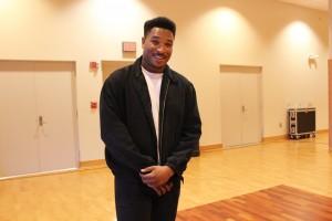 LMP Music Coordinator, Trevor James. Photo taken by Rebecca Romo.