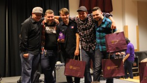 Winners of the first ever Battle of the Bands competition, Fault Union. Photo taken by Rebecca Romo.
