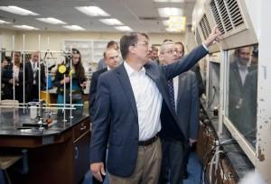 Governor seeks support for bond package, $114.9 million for WCU science building