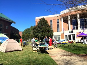 Outdoor gear sale takes over WCU lawn