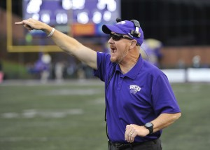 Speir is a passionate coach and the players recognize that. Photo by