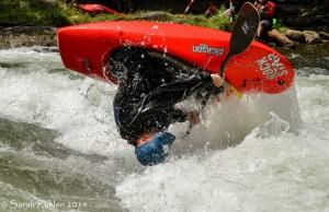 Bartl racing on the river. Photo by Sarah Ruhlen.