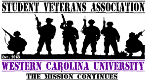 Student Veterans Association logo from their Facebook page
