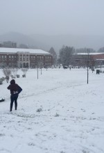 First snow closes WCU on last day of classes