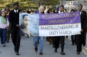 2015 Unity March Photo credit: Keith Brenton, WCU News