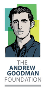 Andrew Goodman Foundation logo, via andrewgoodman.org