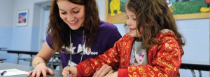 Female teachers continue to dominate primary school classrooms, photo via WCU School of Teaching and Learning