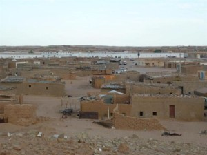 Sahrawi refugee camp. Photo provided by Booth.