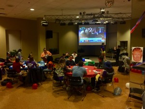 UC presidential debate viewing party leaned toward Clinton