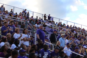 Catamounts' fans hoping players can mount a comeback. Photo by Marcus Smith.